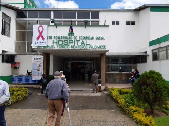 El hospital del IESS de Loja también está envuelto en la denuncia del propio presidente del Consejo Directivo.