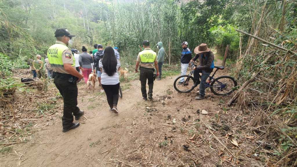 Se ha cumplido varios recorridos por el lugar para verificar la situación.