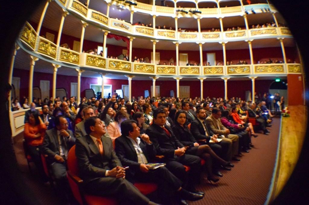 El Teatro Universitario Bolívar es testigo de una serie de eventos, organizados por la Alma Máter y por otras entidades lojanas.