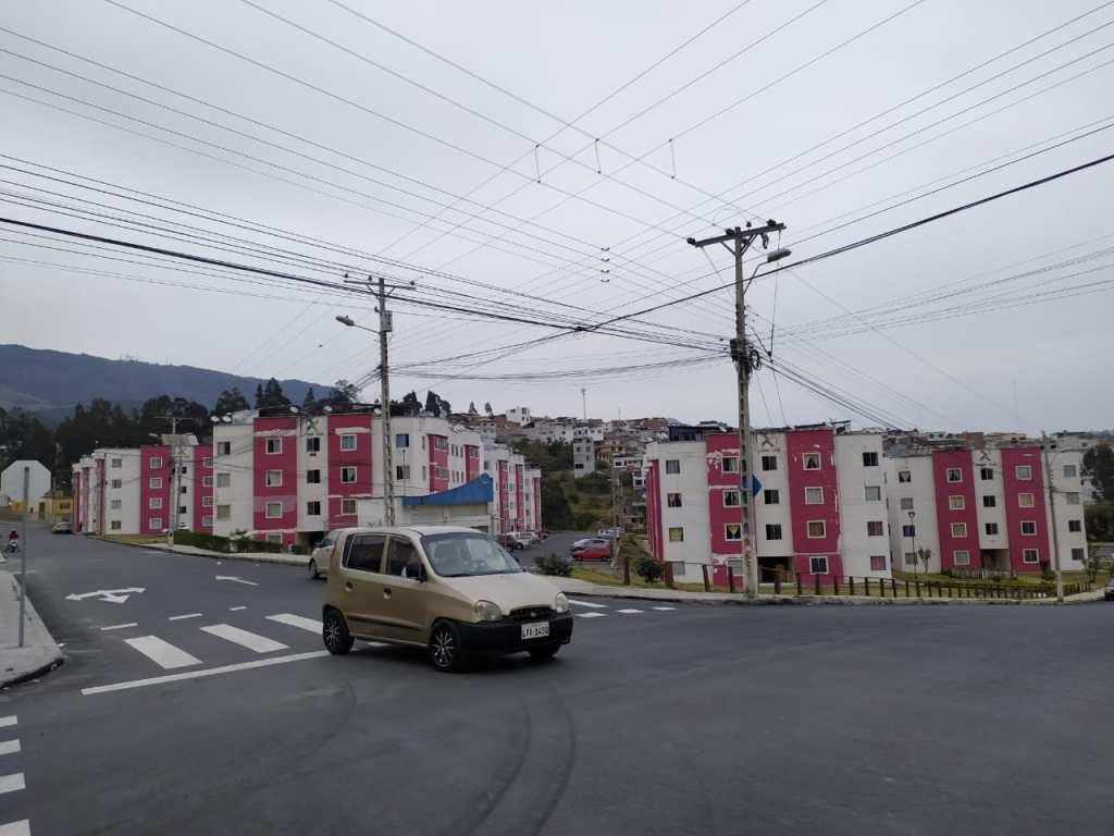 Las calles de Ciudad Alegría ya cuentan con señalética horizontal.