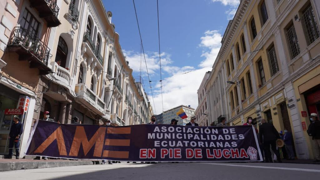 La semana anterior hubo una jornada de protesta en la capital del país.
