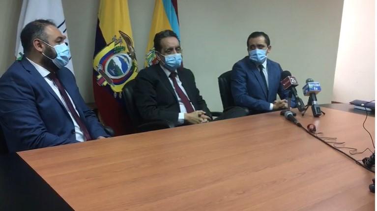 David Zuñiga y Luis Pacheco, son los directores administrativo y médico, respectivamente.