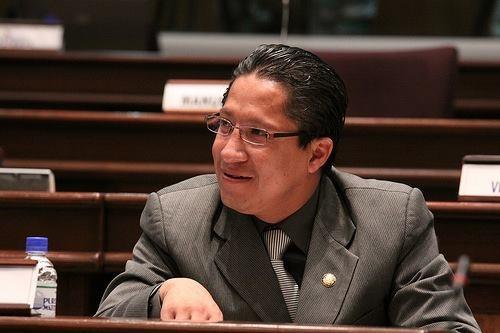 Mao Bolívar Moreno, exdirector provincial del Ministerio de Cultura.