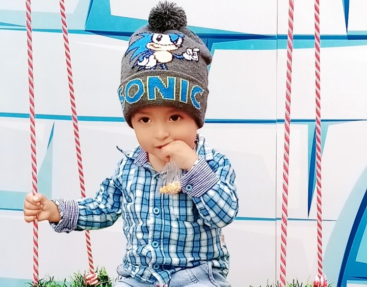 Gahel Sebastián tiene la edad de un año y 10 meses.