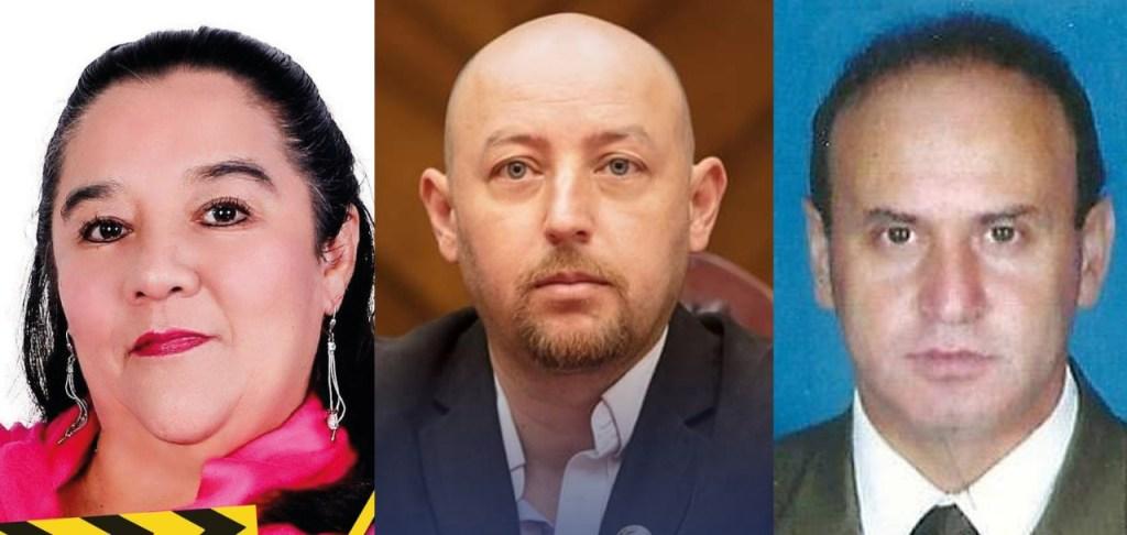 Los concejales Ligia Rodríguez y Pablo Burneo, y el comunicador social, Lenin Paladines, fueron los demandados.