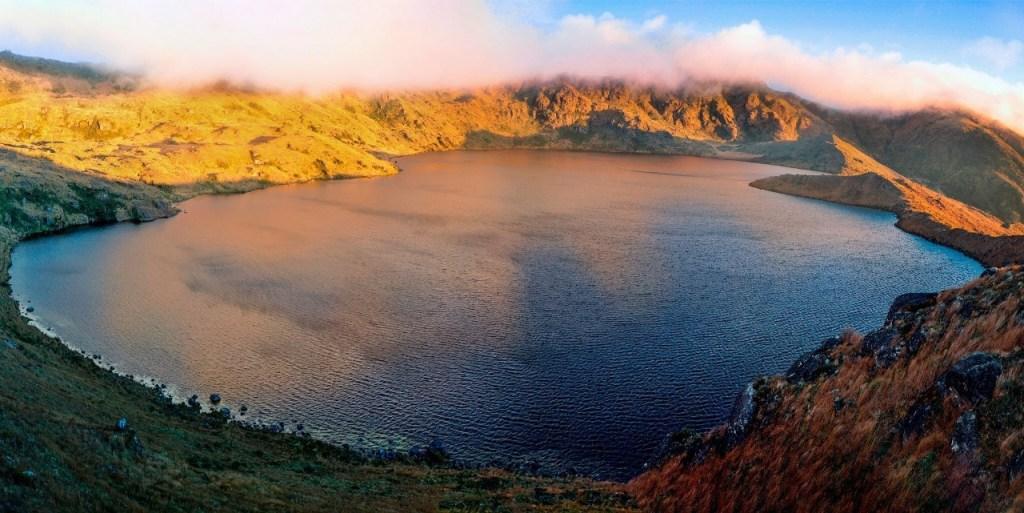 La Laguna Yacuri es un componente del Parque Nacional. (Fotografía cortesía Carlos Jiménez)