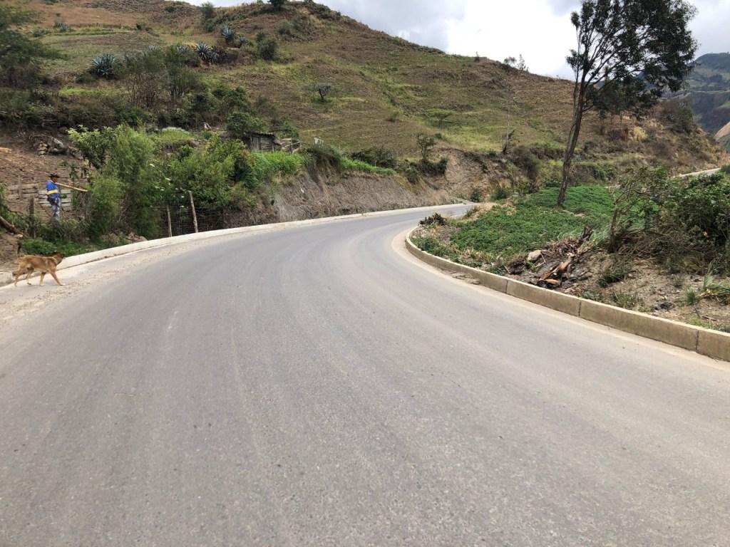 Los trabajos en el tramo Villonaco-Taquil están suspendidos.