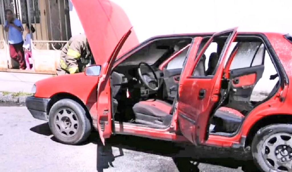 El incidente ocurrió en las calles Manuel José Aguirre y José Picoita.