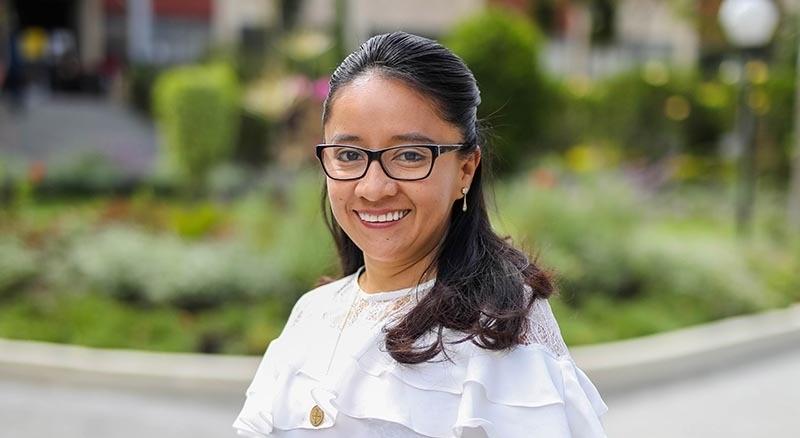 Elizabeth Salas Tenesaca, coordinadora de la carrera de Finanzas de la UTPL.