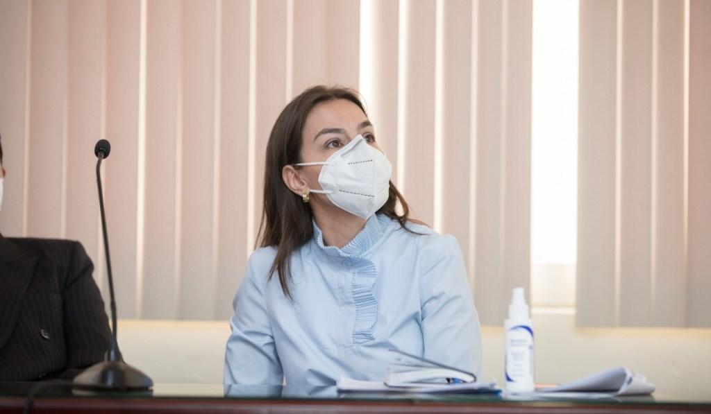 Karla Loján, comisaria de Higiene del Municipio de Loja.