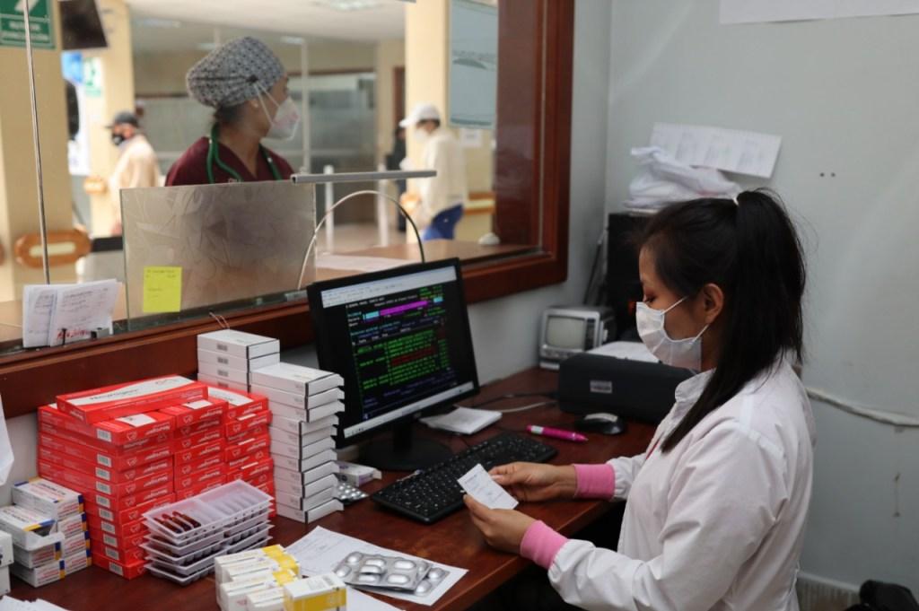 Existen dos hospitales en Loja, a donde deben acudir los pacientes infectados en el caso de necesitar atención.