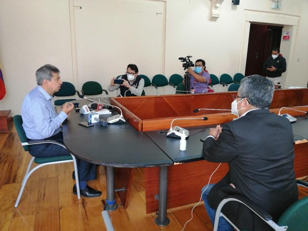 Rafael Dávila, prefecto de Loja saludó el accionar de los legisladores.