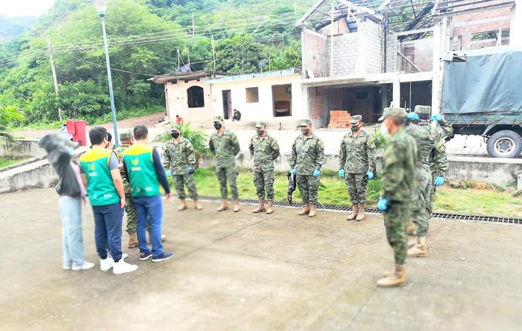 El apoyo de los militares a las entidades del Estado y comunidad continuará.
