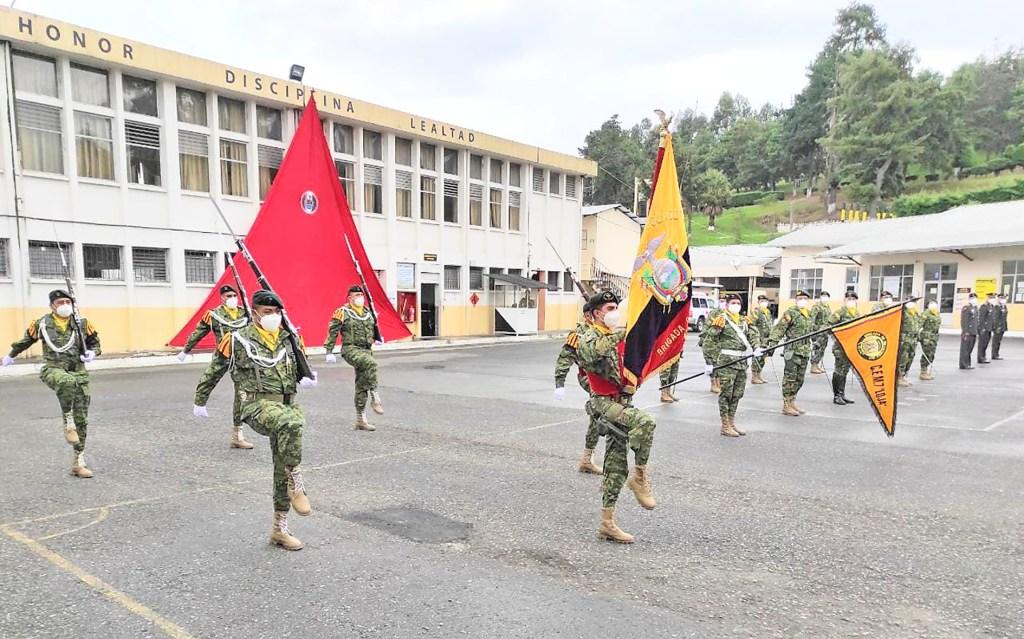 El evento militar fue en la Brigada de Infantería.