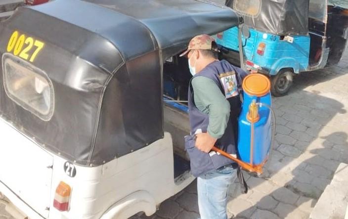 En el cantón se llevan adelante varias actividades para frenar la expansión del virus. (Foto: Municipio de Zapotillo)