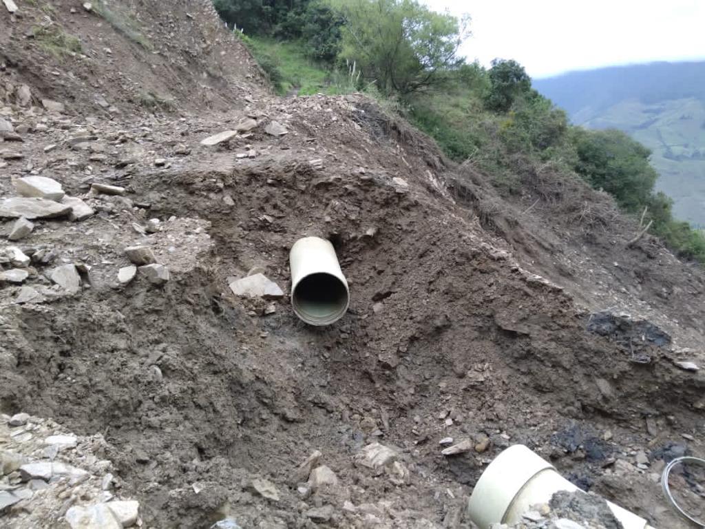 Mientras arreglan los daños, continuará el abastecimiento del líquido vital, mediante tanqueros.