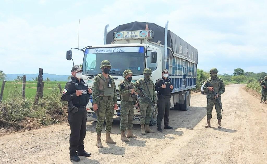 La mercadería fue remitida al Servicio Nacional de Aduana del Ecuador (Senae).