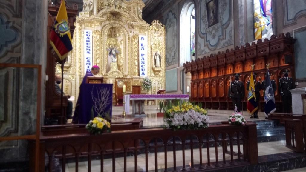 El Domingo de Ramos no se realizará la tradicional procesión.