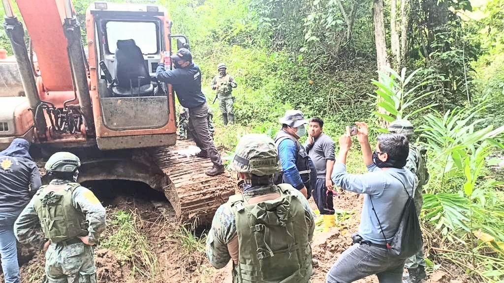 El operativo se ejecutó en el Oriente ecuatoriano.