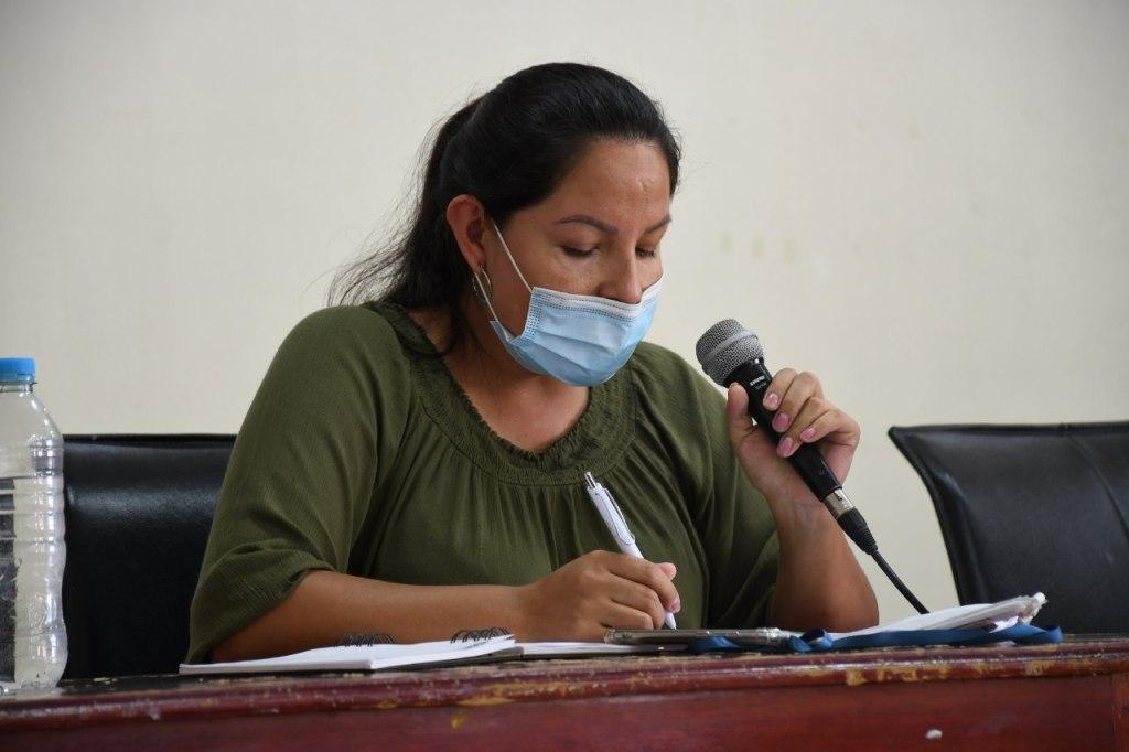Ruth Magdalena González asume la función, sintiendo que se reivindican los derechos de la mujer.