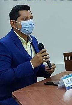 Alfredo Vera, coordinador de la Zona 7 de Salud.