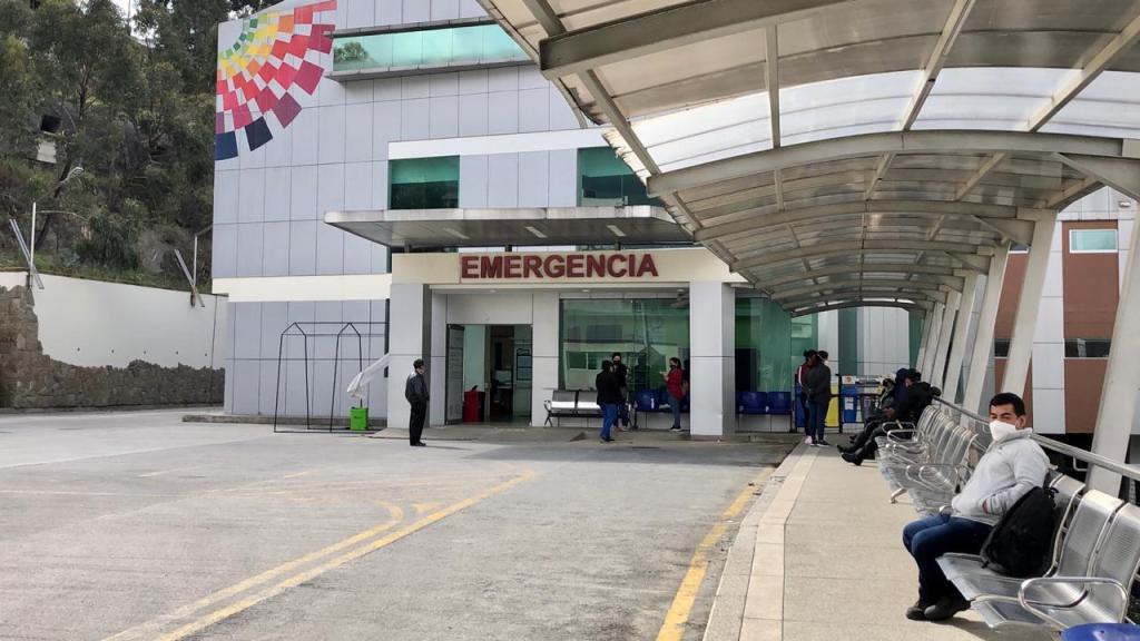 En el Hospital Isidro Ayora ubicaron áreas distintas para atender a los infantes.