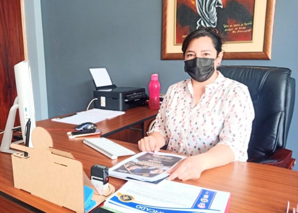 Mercy Jaramillo Carrión dice que la capacitación es parte del plan de trabajo del directorio.