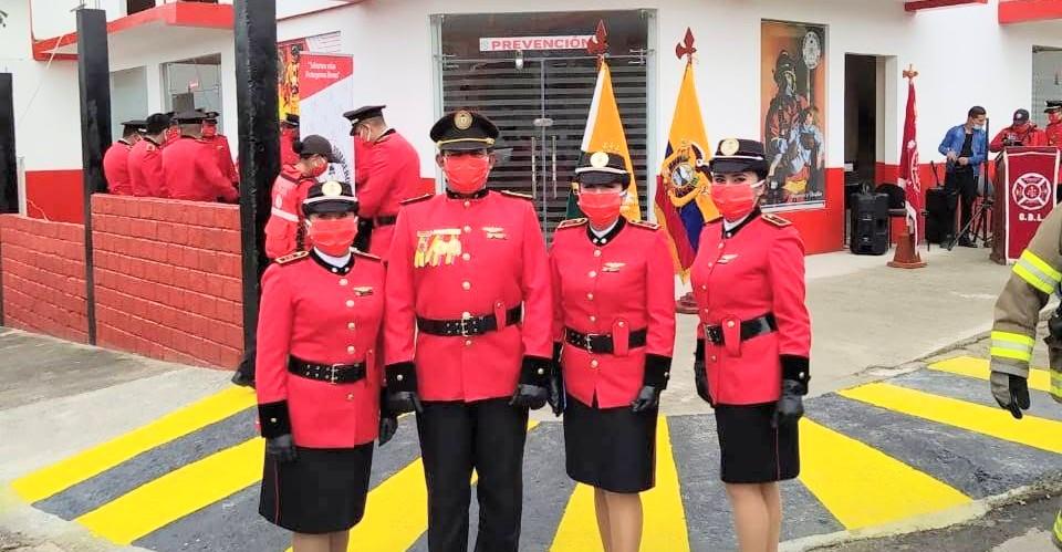 Giovanny Salazar Pañafiel es el comandante de los casacas rojas de Malacatos.
