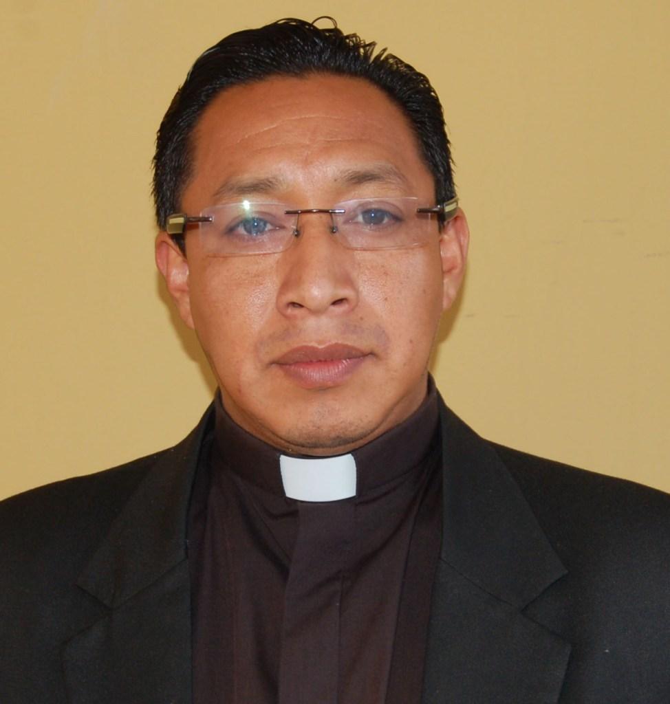 Fausto Pucha, director de Pastoral Social Cáritas de Loja.