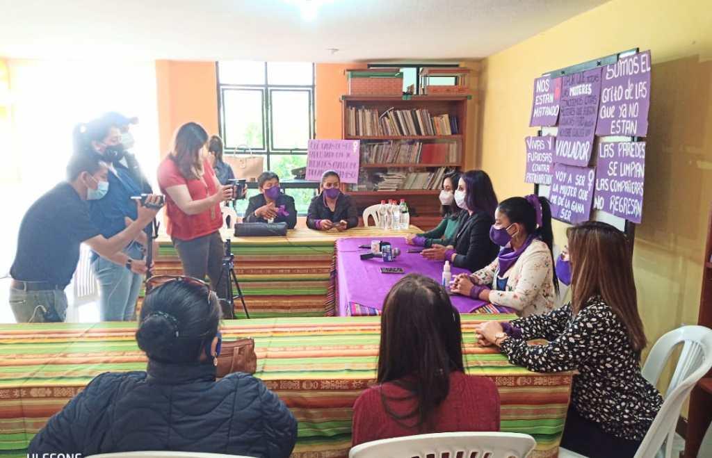 'Acción Feminista por la Paz' acompaña a la supuesta víctima. (Fotografía de archivo)