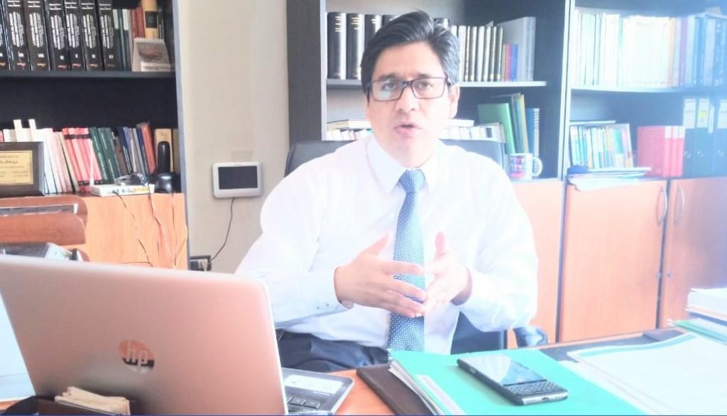 Galo Ortega Criollo, abogado de un grupo de perjudicados.