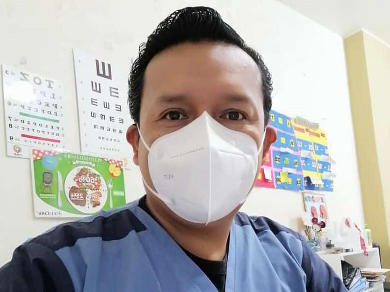 El médico familiar Álvaro Manuel Quinche opina que el personal de salud debe ser investigador por vocación.
