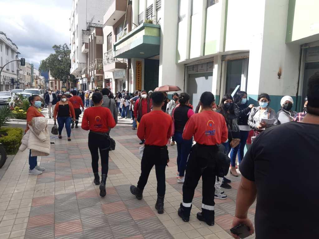 Los expertos en seguridad y primeros auxilios llegaron con mensajes a la ciudadanía.
