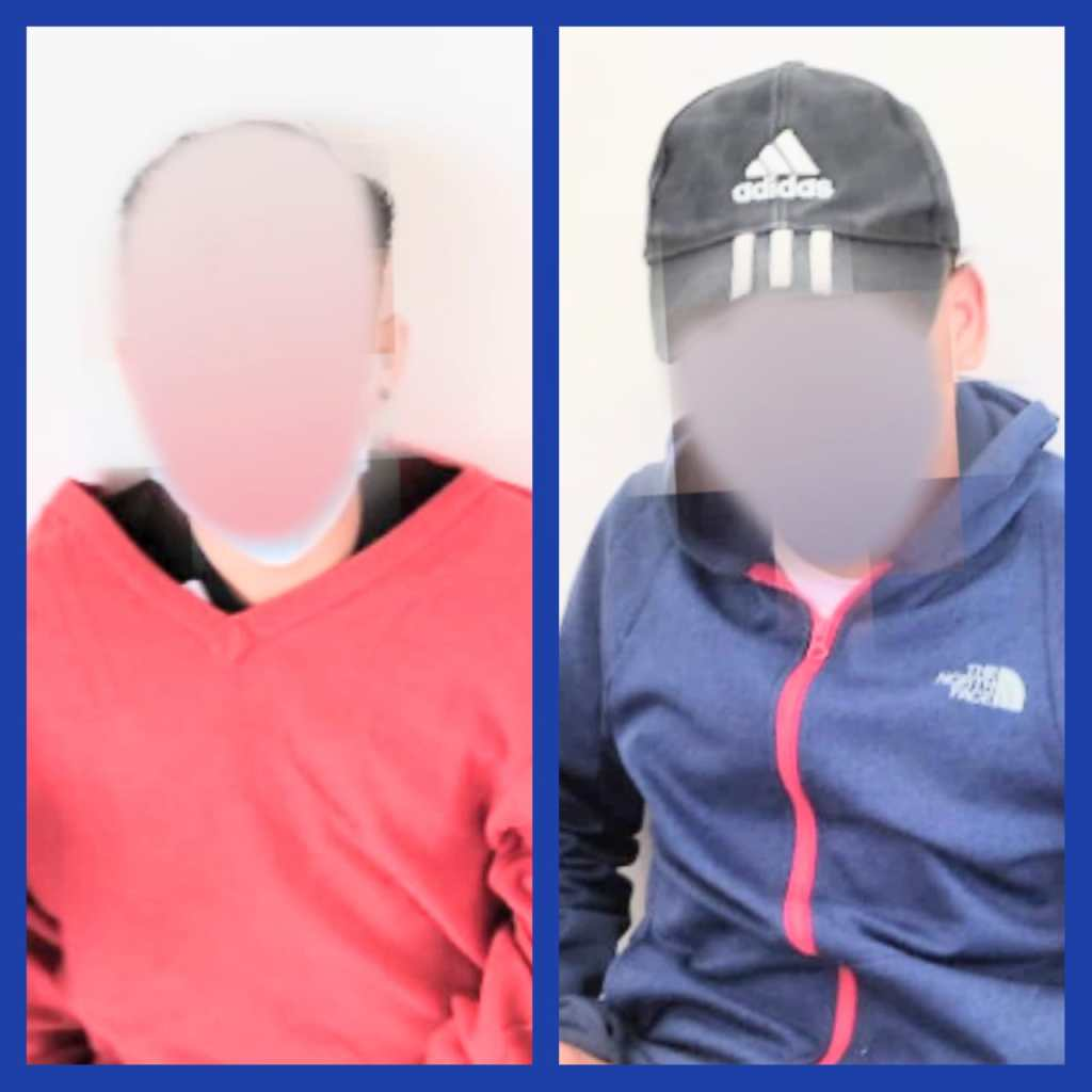 Los dos sujetos fueron interceptados por la Policía de Macará.