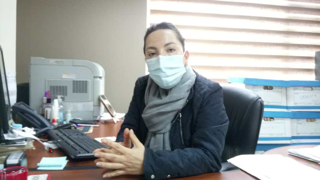 Chriss de los Ángeles Jiménez Loaiza, coordinadora provincial de Cartera y Coactivas del IESS.