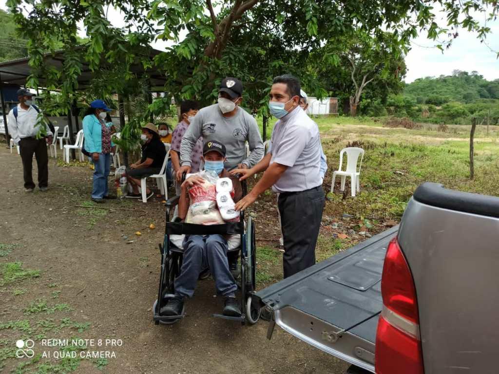 La ayuda social que realiza la Pastoral es de todos los días.