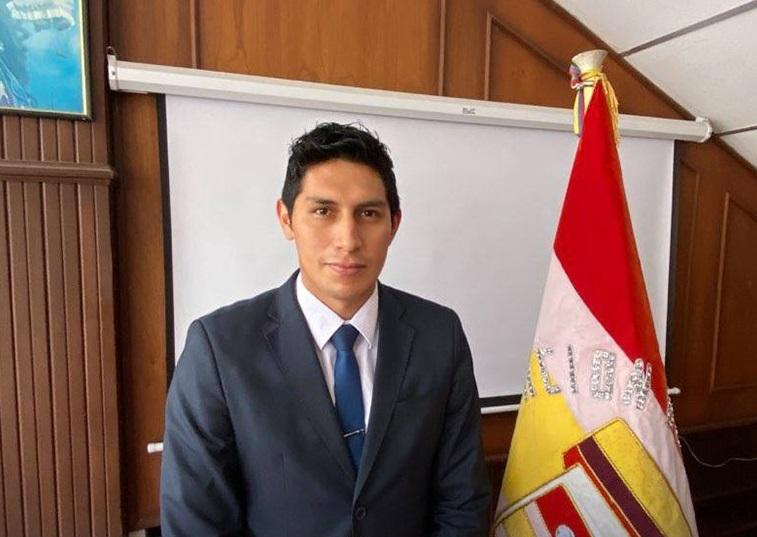 Jorge Feijó Zaruma estará en el cargo por cuatro años.