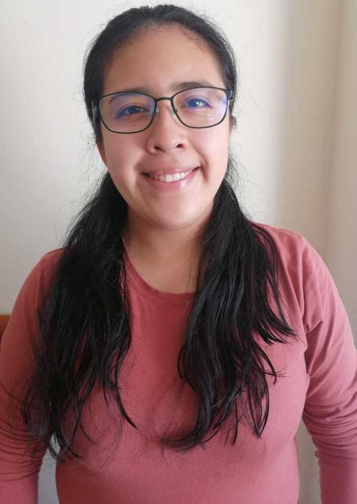 María de los Ángeles Paguay, presidenta de la FEUE-UNL.
