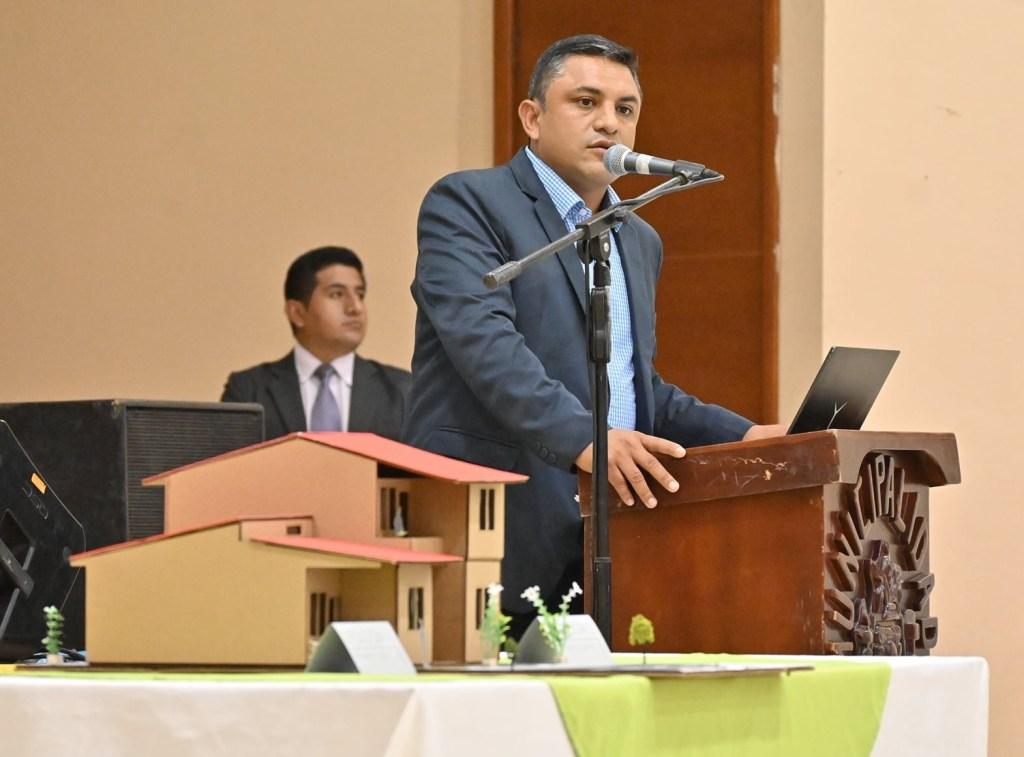 Se realizó la presentación del proyecto en el auditorio del Ayuntamiento.
