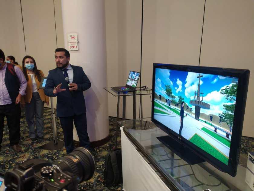 El proyecto 'Realidad X' cuenta con el aporte de estudiantes que conforman el Club de Realidad Virtual de la UTPL.