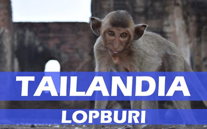 Lopburi una ciudad invadida por monos en Tailandia