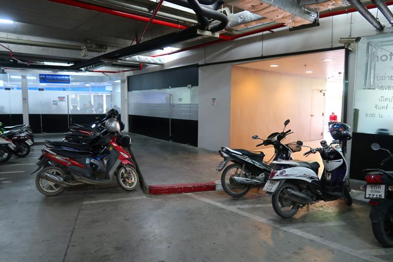 chian mai extension de visado parking