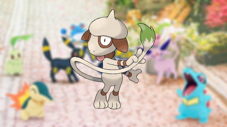 Pokemon-GO -–- Cómo-atrapar-Smeargle-for-the-Johto-Collection-Challenge