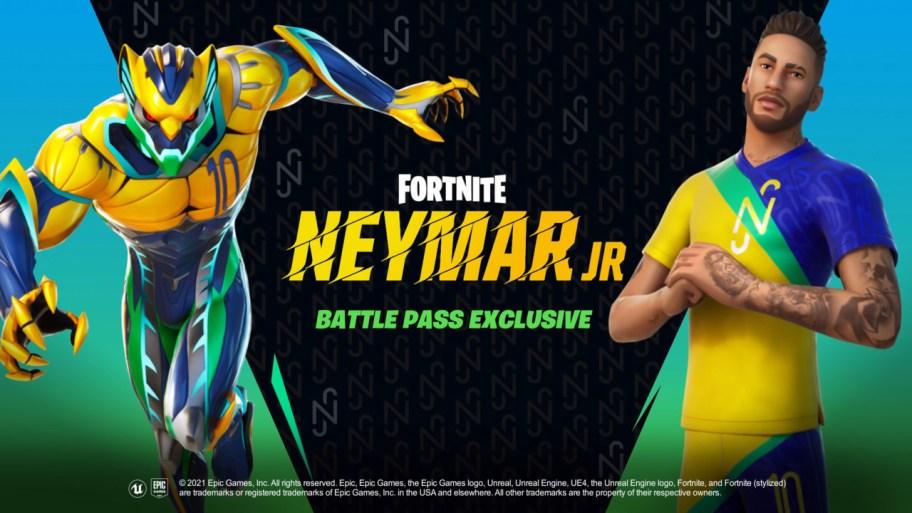 Pase de batalla Fortnite Neymar Jr