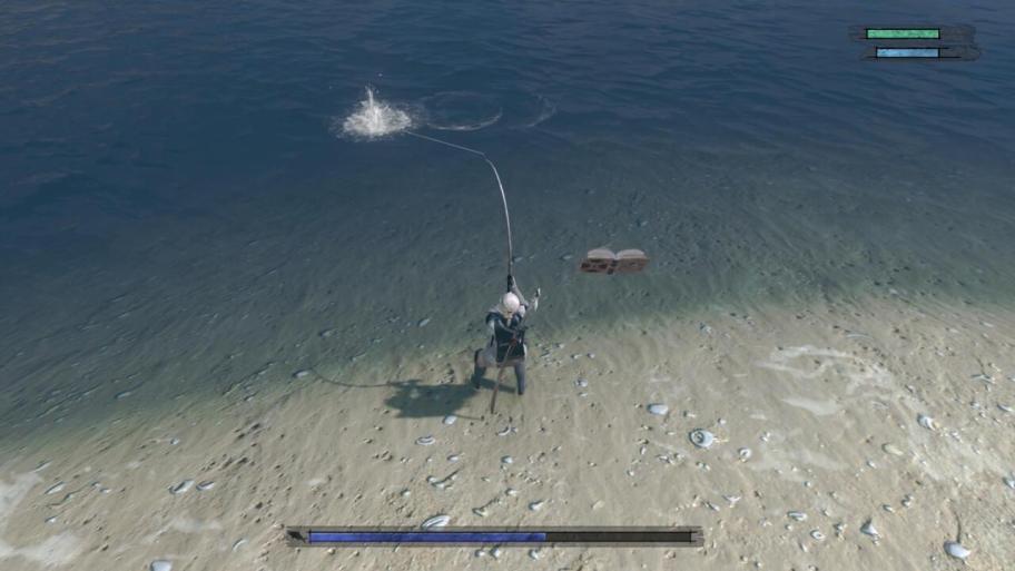 Nier-Replicante-Pesca-Pez globo