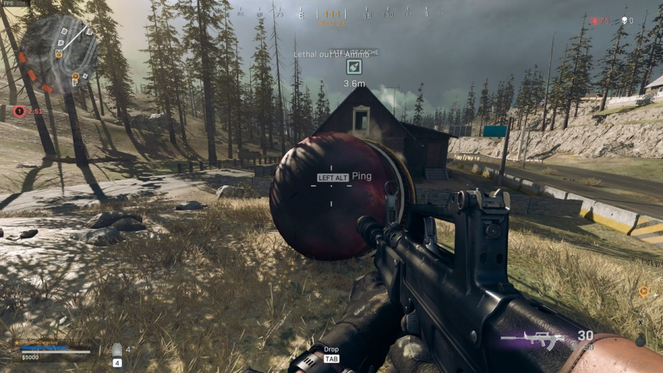 Satélite Call of Duty Warzone