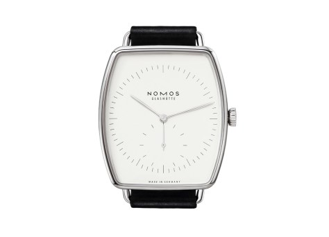 NOMOS Lux Weissgold frontal