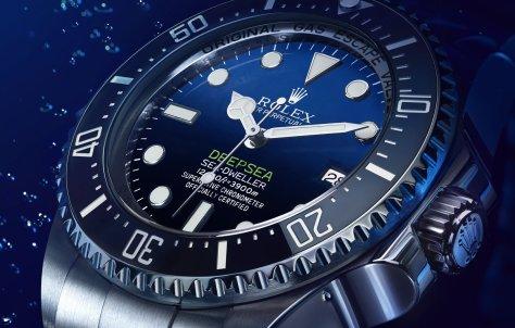 Rolex Deepsea D-blue perfil