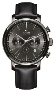 Rado DiaMaster Ceramic Automatic Chronograph Plasma cuero gris