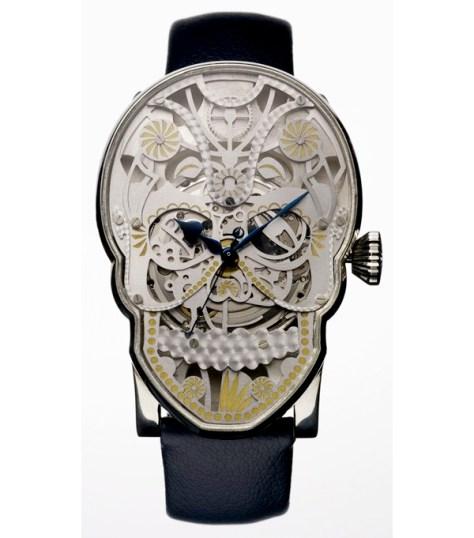 Fiona Kruger - Memento Mori Skull Watch